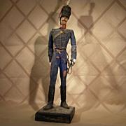 Antique Wood Soldier