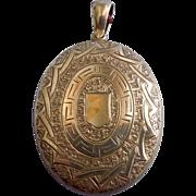 Silver Locket, Victorian