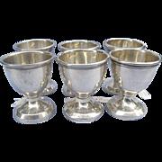 Silver (Sterling) trophy/Egg Cups, Vintage