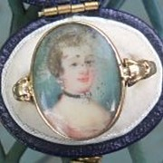 Portrait  Ring, Georgian