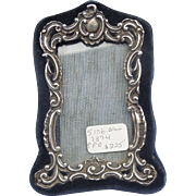 Silver (English Sterling) frame, late Victorian