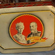 George V and Queen Mary Silver Jubilee Tin, 1935
