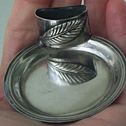 Silver Place Card Holder, Victorian