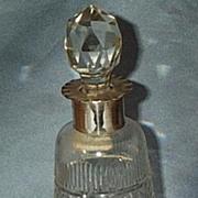 Perfume Bottle, Silver Neck