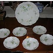 Berry Bowl Set, 7 Pieces , Austrian, Edwardian
