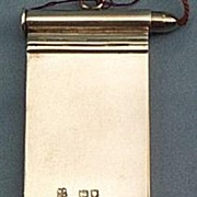 Silver Notebook, Victorian