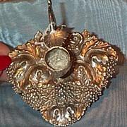 English Silver Chamber Stick, 1841