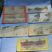Stereocards, Group of 7, New York and California