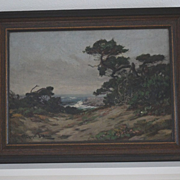 Charles Judson Monterey landscape oil painting