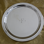 "Sterling silver tray 10"" Reed & Barton"