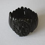 Victorian whitby jet bracelet