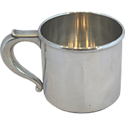 SOLD Child or baby cup sterling silver Wallace