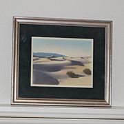 Hand colored photograph Palm Springs Stephen Willard