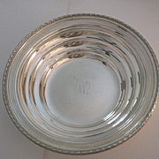 Sterling silver Reed & Barton bowl fretwork 1934