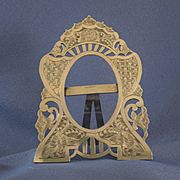 SOLD Silver European picture frame 84 silver
