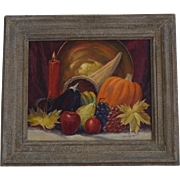 Paul A. Schmitt Still Life Cornucopia oil painting