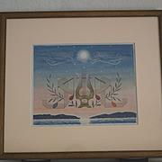 W.R. Cameron lithograph San francisco bay