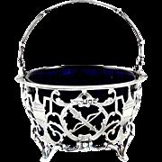 Antique Sterling Silver Basket/Bowl - Goldsmiths & Silversmiths 1911