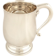 Antique Hallmarked Sterling Silver Pint Mug/Tankard 1942