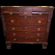 Mahogany Federal Empire Period, Butlers Desk, Secretary,1820