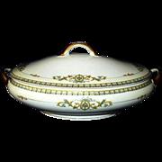 REDUCED Noritake Savona Covered Vegetable Bowl Japan 1920s