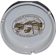 REDUCED Doral Cigarettes Advertising Ash Trays ~ Tobaccoville, NC ~ RJ Reynolds