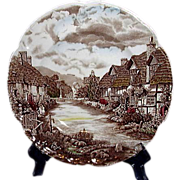 Johnson Brothers, Olde English Countryside Dinner Plate, England