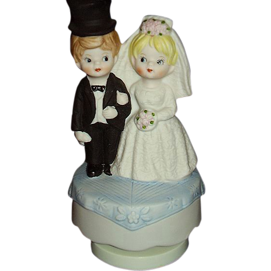 Bride And Groom Music Box Plays Here Comes The Bride Lego