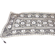 Lace Table Runner Dresser Scarf  41 Inches Long