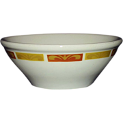 REDUCED Mayer Restaurant Ware Soup Cereal Bowl 1972