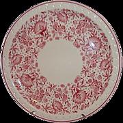 SALE Syracuse Restaurant Ware Econo-Rim Dinner Plate Railroad Pattern 50875