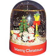 SALE Christmas Snow Globe Snow Dome ~ MIB 1991