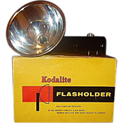 Kodalite Flasholder 710 for Brownie Hawkeye Bulls-Eye and Duaflex 3 Cameras in Original Box ..