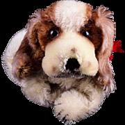REDUCED Steiff Cockie Spaniel Puppy Dog Hand Puppet 2 IDs