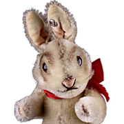REDUCED '50s/'60s Little Brother Steiff 5xJointed Niki Rabbit Bunny Hase ID