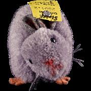 Rare Steiff Wool Miniature PomPom Mouse All ID 1952-1958 Near Mint