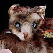 Cute and Rare Tiny Sleepy Steiff Dormy Dormouse ID
