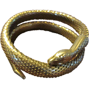 Whiting and Davis Upper Arm Snake Mesh Bracelet