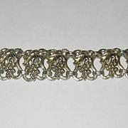 SALE Elaborate Napier Sterling Vermiel Grapes Bracelet