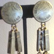 MOSCHINO Vintage Drop earrings