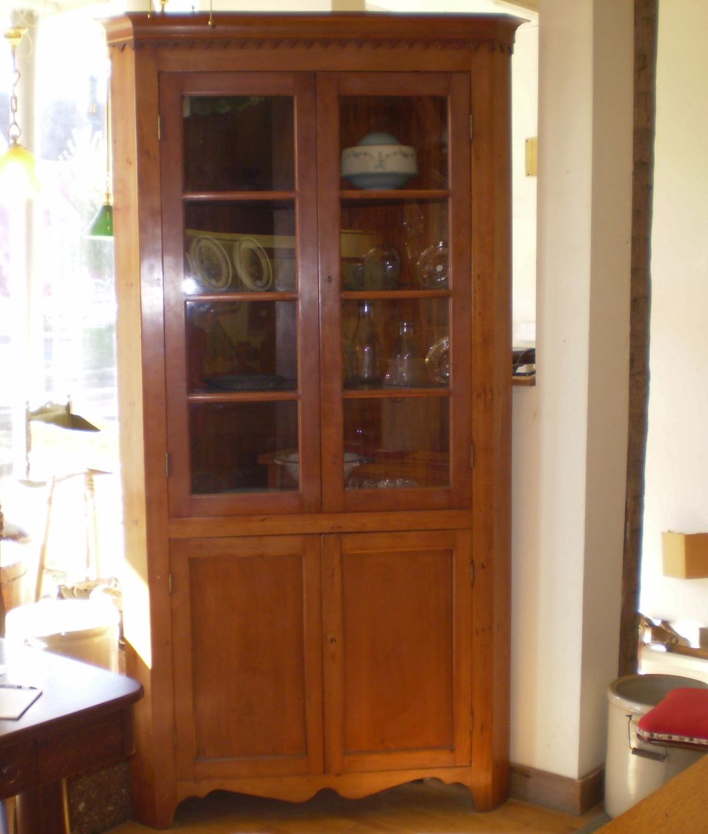 Kitchens With Glass Cabinet Doors: Vintage Cup: NEW 680 VINTAGE GLASS CABINETS