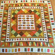 Beautiful Vintage Silk Scarf – Albert Nipon