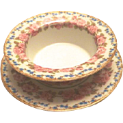 Antique Rosebud Design Ramekin – GDA Limoges, France