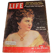 May 11, 1959 LIFE magazine with cover of Pioneer Women Good and Bad, Baby Doe ...