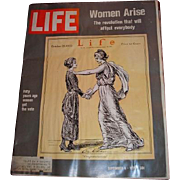 September 4, 1970 LIFE magazine with cover Women Arise