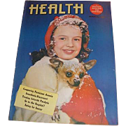 Three HEALTH and Life and Health magazines. March 1947, November 1949 and October 1951 A ...