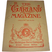 Pre-1900 turn of the Century The Garland Magazine from The Michigan Stove Company. Cast ...
