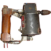 Electric motor with gear reduction rivet or impact driver reciprocating alternating Aircraft .