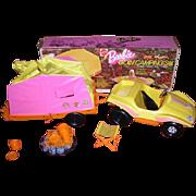 1973 Mattel BARBIE Goin' Camping Set with original box