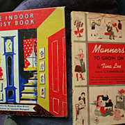 SALE The Indoor Noisy Room Book and Manners to Grow on by Tina Lee